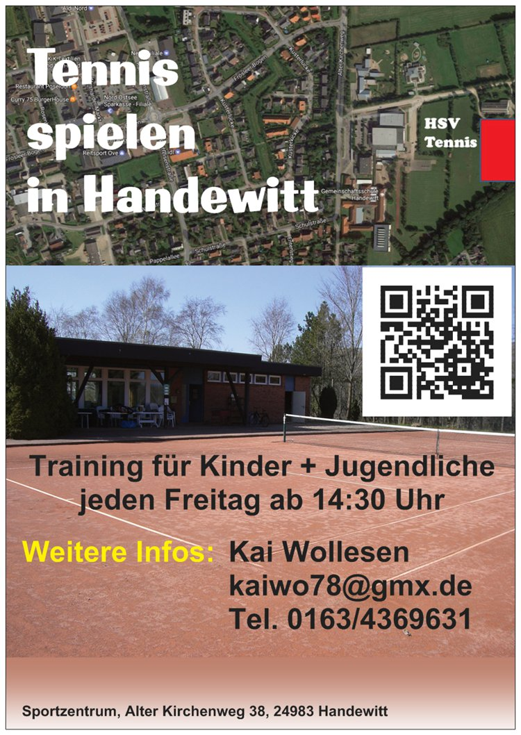 Flyer Tennis 2017 neu